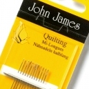 John James Hand Quilting Needles - Size 11
