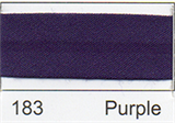 12mm-wide Polycotton Single Fold Bias Binding - 183 Purple