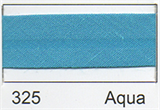 12mm-wide Polycotton Single Fold Bias Binding - 325 Aqua