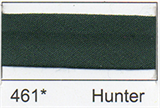 12mm-wide Polycotton Single Fold Bias Binding - 461 Hunter Green
