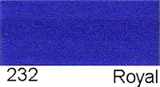 15mm-wide Polysatin Bias Binding - 232 Royal Blue