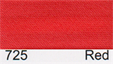 15mm-wide Polysatin Bias Binding - 725 Red
