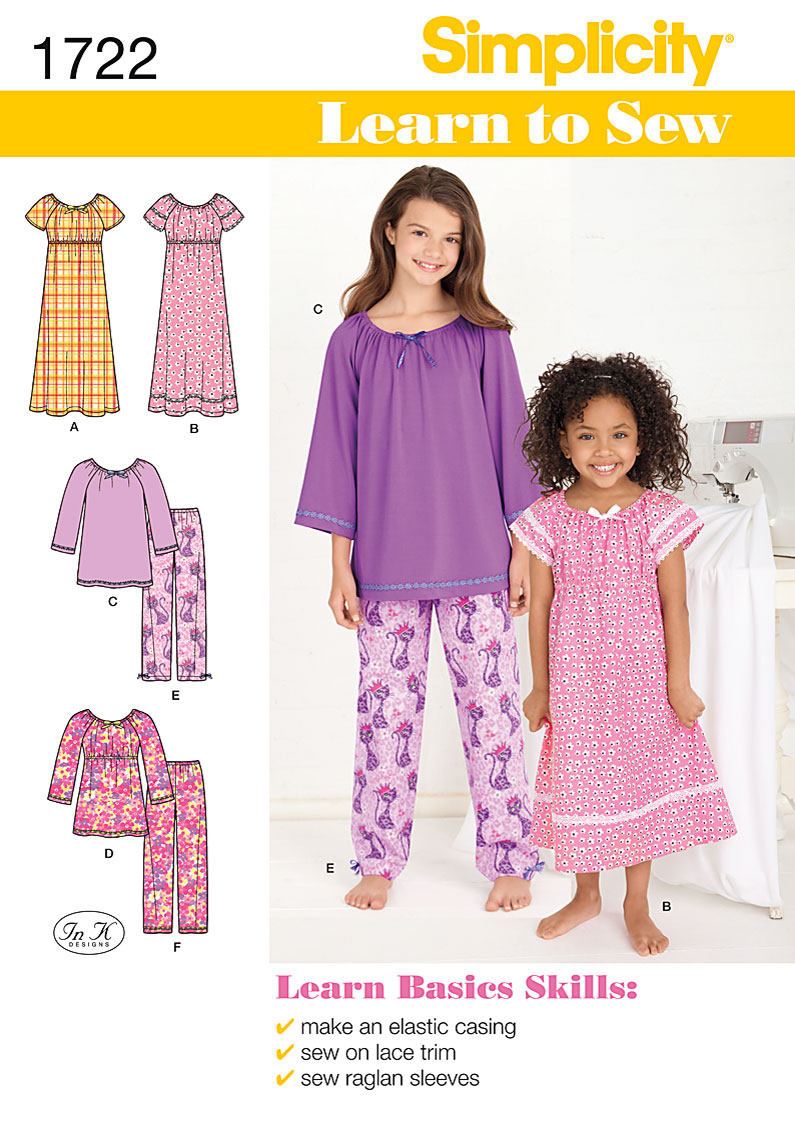 Simplicity Pajama Patterns Best Decorating Ideas