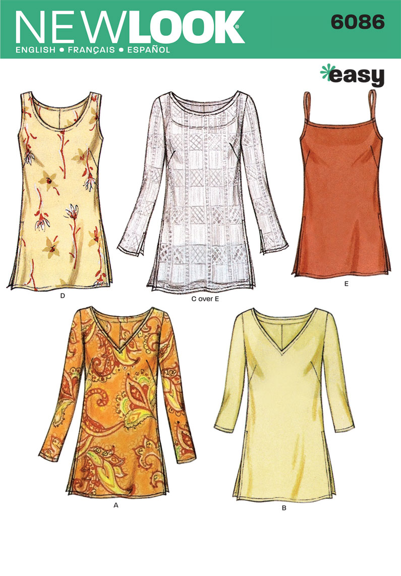 Image result for new look tunic patterns