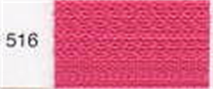 Standard Nylon Zipper - Colour 516 - Shocking Pink