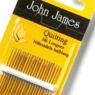 John James Hand Quilting Needles - Size 9