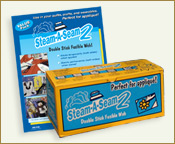 Steam-a-Seam 2 double stick paper backed repositionable fabric adhesive